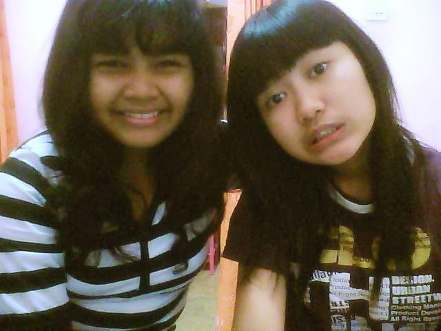 with Fidiyah Rahmahhaha